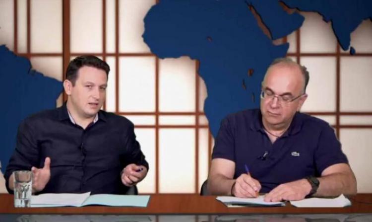 Ο πρόεδρος του ΚΑΠΑ, Λεωνίδας Ακριβόπουλος, στις ΑΝΑ...κρίσεις της διαδικτυακής μας τηλεόρασης