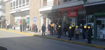 Στις τράπεζες η Ελλάδα...συνωστίζεται!