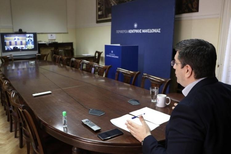 Σύγκληση του Περιφερειακού Συμβουλίου Κεντρικής Μακεδονίας σε έκτακτη μονοθεματική συνεδρίαση με τηλεδιάσκεψη