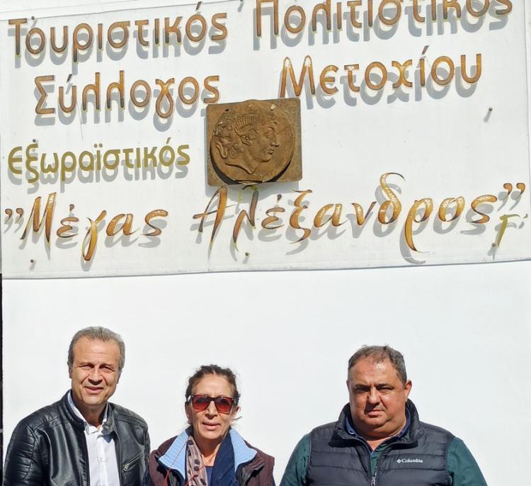 Αποκαταστάθηκε πλήρως η στέγη του τουριστικού πολιτιστικού συλλόγου Μετοχίου