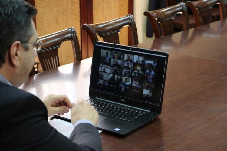 Συνεδρίαση του Διοικητικού Συμβουλίου της Ένωσης Περιφερειών Ελλάδας για την αντιμετώπιση των επιπτώσεων της πανδημίας του Κορονοϊού