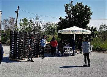 Διανομή τροφίμων και βρεφικών ειδών μέσω του προγράμματος ΤΕΒΑ και του Δήμου Αλεξάνδρειας