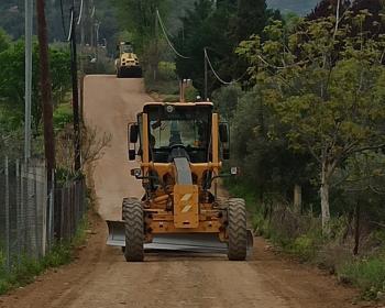 Συνεχίζονται με αμείωτο ρυθμό τα έργα στο Δήμο Βέροιας