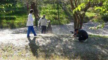 Υπαίθριος καθαρισμός του Αλιάκμονα στο Νησέλι από «Τα Παιδιά της Άνοιξης»