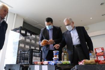 Ο Περιφερειάρχης Κ.Μακεδονίας Απ.Τζιτζικώστας στο νέο πρόγραμμα έτοιμων γευμάτων για 17.000 δικαιούχους του «Βοήθεια στο Σπίτι»
