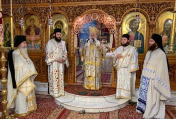 Η εορτή του Αγίου Σωσιπάτρου του Βεροιέως στο Μοναστήρι της Παναγίας Δοβρά