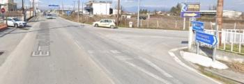 Τροχαίο ατύχημα με υλικές ζημιές στην έξοδο του κόμβου των Μονοσπίτων