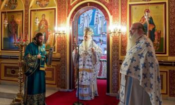 Μεσοπεντηκοστή στην Ιερά Μονή Αγ. Αθανασίου Σφηνίτσης