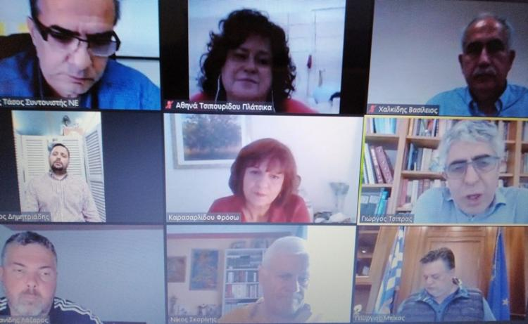Φρ.Καρασαρλίδου : Τηλεδιάσκεψη με εκπροσώπους επαγγελματοβιοτεχνών, εμπόρων και επιχειρήσεων για τις επιπτώσεις της πανδημίας στον επιχειρηματικό κλάδο