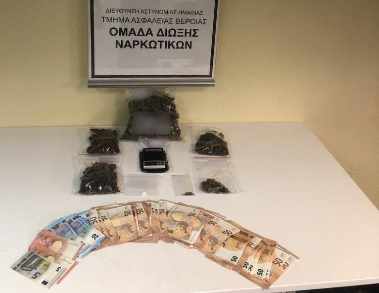 Σύλληψη άνδρα στη Θεσσαλονίκη για κατοχή ναρκωτικών ουσιών