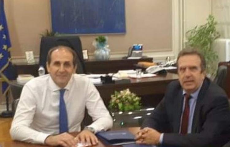 Περισσότερες δόσεις και Ακατάσχετο λογαριασμό ζήτησε ο Πρόεδρος της ΕΣΕΕ από τον Υφυπουργό Οικονομικών κ. Απ.Βεσυρόπουλο
