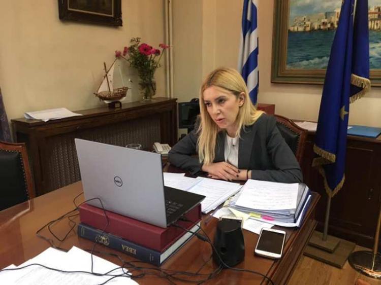 Φ.Αραμπατζή : «Άμεση λειτουργία του Μητρώου Αγροτών και διασύνδεση των 147 πληροφοριακών συστημάτων-υπηρεσιών του ΥΠΑΑΤ με τους εποπτευόμενους Φορείς του»