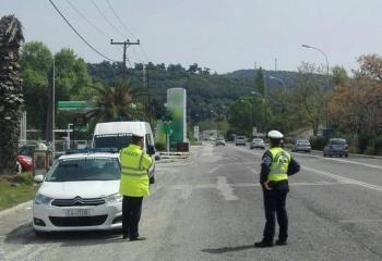 Στοχευμένοι τροχονομικοί έλεγχοι για την πρόληψη των τροχαίων ατυχημάτων στην Κεντρική Μακεδονία