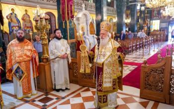 Αρχιερατική Θεία Λειτουργία στον Ιερό Ναό του Αγίου Αντωνίου Πολιούχου Βεροίας