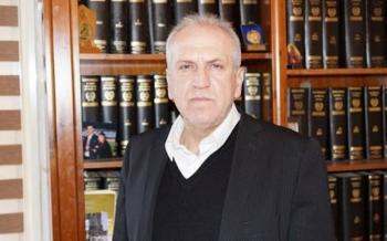 Πάντα...ανήσυχος και στο πλευρό των συναδέλφων του ο πρόεδρος του «δικηγορικού», Φώτης Καραβασίλης