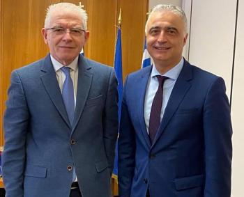 Με πλούσια ατζέντα η συνάντηση του Λ.Τσαβδαρίδη με τον πρόεδρο του ΕΛΓΑ Α.Λυκουρέντζο