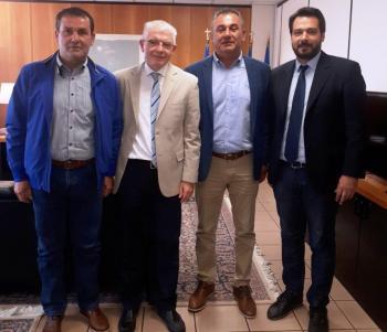 Συναντήσεις αντιπροσωπείας του Α.Σ.Γ. Βέροιας με τους Μ. Βορίδη, Α. Λυκουρέντζο και Απ. Βεσυρόπουλο