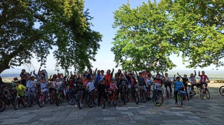 Δήλωση Δημάρχου Νάουσας Ν.Καρανικόλα κατά τα εγκαίνια του πρώτου ποδηλατόδρομου που πραγματοποιήθηκαν την Τετάρτη