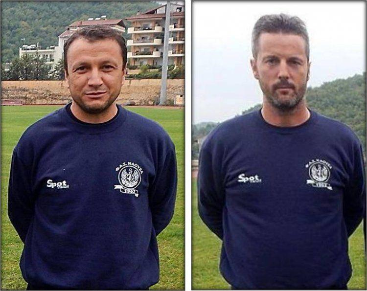 Ανανεώθηκε η συνεργασία του Φ.Α.Σ. Νάουσα με τους προπονητές Σγούρδα και Πολύζο