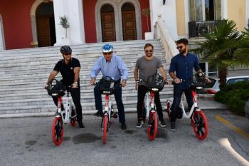 Με ηλεκτροκίνητη ποδηλατοβόλτα τίμησε ο κ. Θ. Καράογλου την Παγκόσμια Ημέρα Περιβάλλοντος