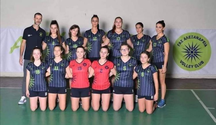 Συγχαρητήρια στο τμήμα volley του Γ.Α.Σ. ΑΛΕΞΑΝΔΡΕΙΑ