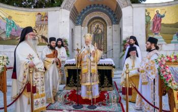 Κυριακή της Πεντηκοστής στο Βήμα του Αποστόλου Παύλου Βεροίας. Έναρξη των λατρευτικών εκδηλώσεων των ΚΣΤ΄ Παυλείων