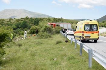 Τροχαίο δυστύχημα στην Καστανιά. Αυτοκίνητο έπεσε στο γκρεμό, με θύμα το νεαρό, Βεροιώτη, οδηγό του
