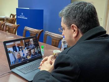 Μια ενδιαφέρουσα τηλεδιάσκεψη στο περιφερειακό συμβούλιο Κεντρικής Μακεδονίας, για τουρισμό και πολιτισμό