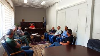 Δήμος Νάουσας : Ξεκινούν άμεσα οι εργασίες για την αποκατάσταση του αγροτικού δρόμου στην περιοχή «Μύλοι» στην Αγία Τριάδα
