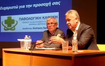 Διονύσης Διαμαντόπουλος στους συναδέλφους του εκπαιδευτικούς : «Φοράμε μάσκες στο σχολείο»