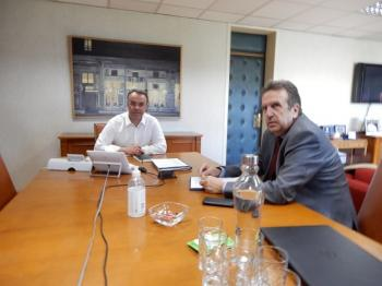 Συνάντηση του Προέδρου της ΕΣΕΕ για τα αιτήματα της αγοράς με τον Υπουργό Οικονομικών κ. Χρήστο Σταϊκούρα