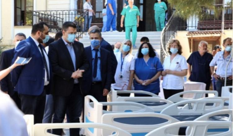 Δωρεά 24 Κλινών ΜΕΘ από την Περιφέρεια στα νοσοκομεία της Κ. Μακεδονίας