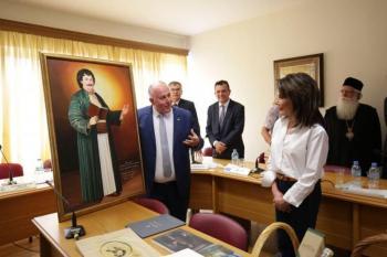 Η Επιτροπή του «Ελλάδα 2021» στο Βελεστίνο, γενέτειρα του Ρήγα Φεραίου