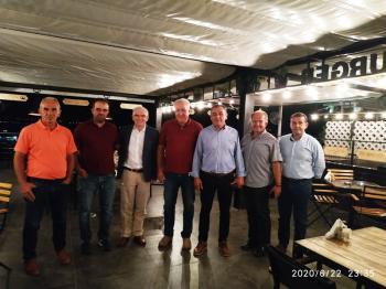 Συνάντηση του ενιαίου συλλόγου αγροτών Νάουσας με τον πρόεδρο του ΕΛΓΑ Ανδρέα Λυκουρέντζο