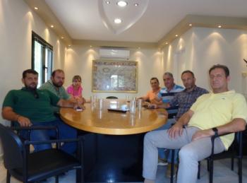 Συνάντηση εκπροσώπων του Αγροτικού Συλλόγου Ημαθίας με τον πρόεδρο της ΕΚΕ