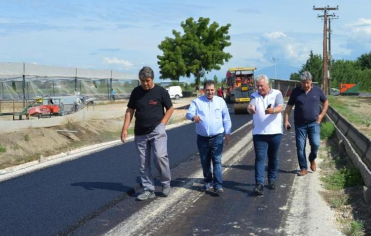 Έργα οδοποιίας στο αγροτικό οδικό δίκτυο του Δήμου Αλεξάνδρειας