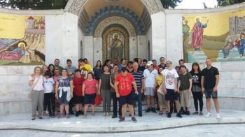 Tα «Παιδιά της Άνοιξης» επισκέφτηκαν την Ιερά Μονή Παναγίας Δοβρά Βεροίας