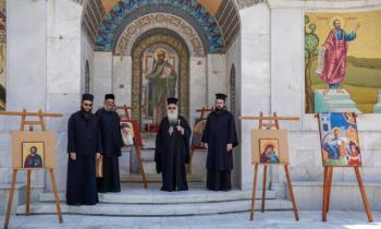 ΚΣΤ΄ Παύλεια : Yπαίθρια έκθεση της Σχολής Βυζαντινών Τεχνών της Ιεράς Μητροπόλεως στο Βήμα του Απ. Παύλου
