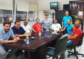 Στην «καρδιά» της παραγωγής και εμπορίας φρούτων ο Δήμαρχος Νάουσας, με επισκέψεις σε αγροτικούς συνεταιρισμούς