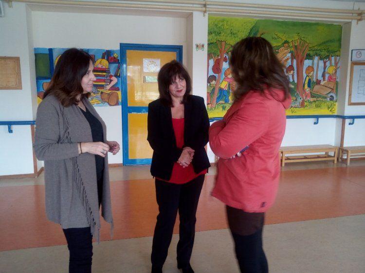 Η βουλευτής Φρόσω Καρασαρλίδου επισκέφθηκε σχολεία ειδικής αγωγής