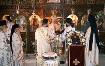 Πανήγυρις Οσίου Παϊσίου του Αγιορείτου στην Ι. Μονή Μεταμορφώσεως Μουτσιάλη Βεροίας