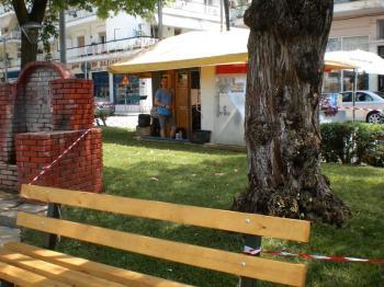 «Μεταμορφώθηκε» το παρκάκι στην πρώην πλατεία Κτηνιατρείου