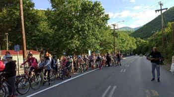 Αρνητική η γνωμοδότηση του Αστυνομικού Τμήματος Νάουσας στον «ποδηλατόδρομο»
