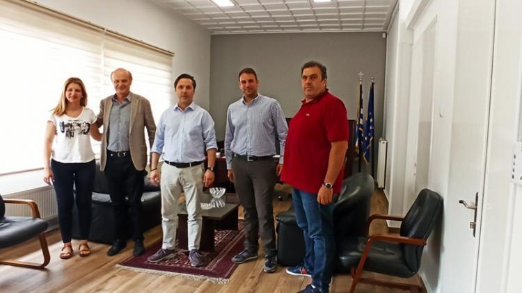 Η άμεση σύνδεση της Νάουσας με το δίκτυο φυσικού αερίου, στο επίκεντρο της συνάντησης του Δημάρχου με στελέχη της EDIL HELLAS
