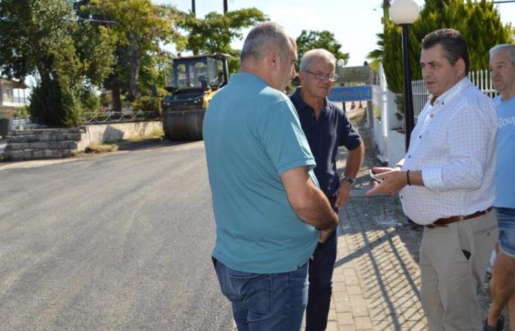 Νέα έργα οδοποιϊας από Βεργίνα μέχρι Κυψέλη