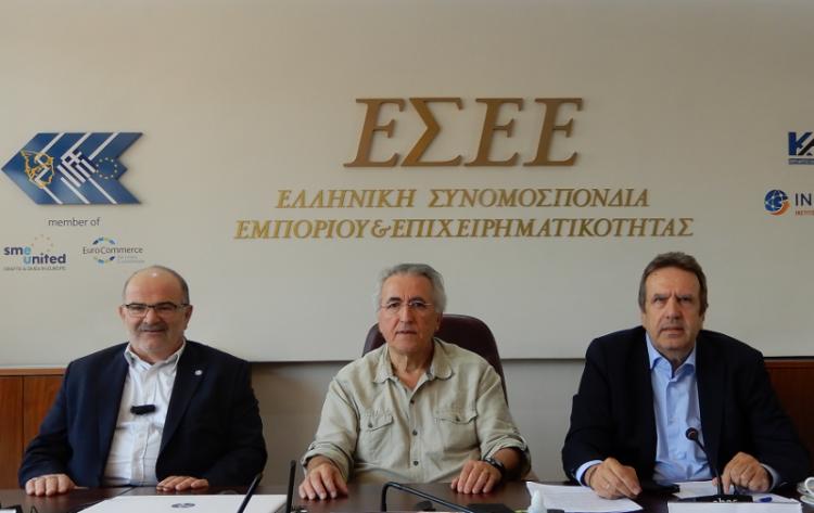 Κοινή πρωτοβουλία ΓΣΕΕ, ΓΣΕΒΕΕ και ΕΣΕΕ για προστασία της εργασίας και ανάπτυξη μικρομεσσαίων επιχειρήσεων