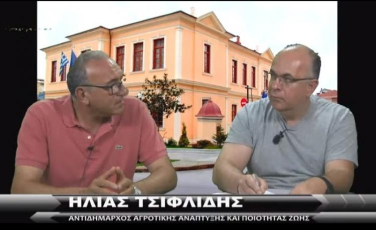 Ηλίας Τσιφλίδης σε www.imerisia-ver.gr : «Το ροδάκινο είναι ο χρυσός της Ημαθίας»