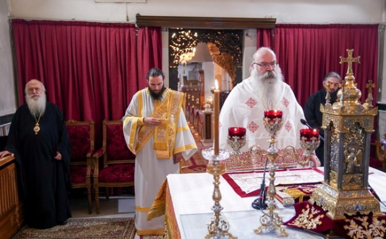 Η εορτή του Αγίου Αθηναγόρου του ομολογητού στη Βέροια. Ονομαστήρια Πρωτοσυγκέλλου