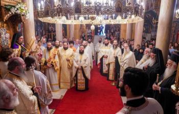 Ο εσπερινός του Αγίου Παντελεήμονος στην Ιερά Μονή Παναγίας Δοβρά Βεροίας. Κουρά Μοναχού