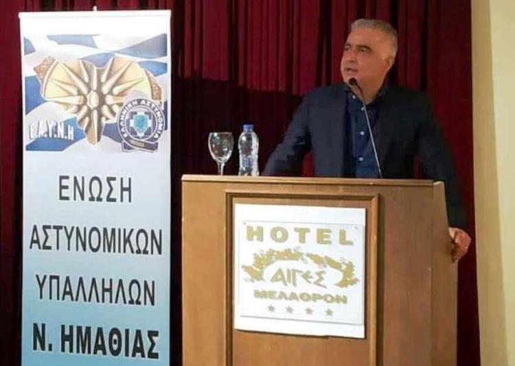 Λάζαρος Τσαβδαρίδης : «Μόνο σεβασμός για το καθημερινό έργο που με αυταπάρνηση προσφέρει ο Έλληνας Αστυνομικός»